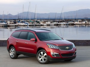 2013 3 Row Chevrolet Traverse
