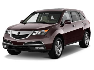 Acura MDX Front Exterior View