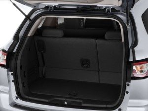 Chevy Cargo Space