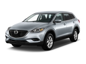 Mazda CX-9 Front View