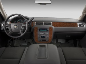 Tahoe Interior Dashboard