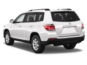 2013 Highlander Rear View