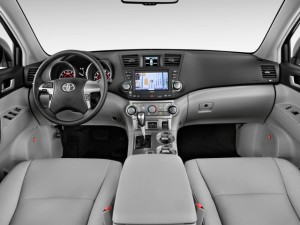 Toyota Highlander Dash Interior