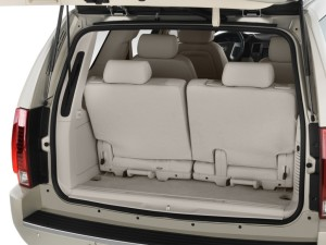 Escalade Cargo Space