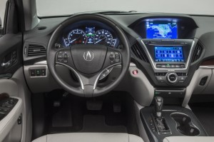 Acura MDX Interior Dashboard