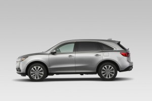 Acura MDX Side View