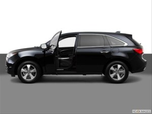 BMW X5 Side View