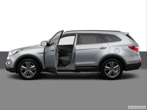 Hyundai Santa Fe Side View