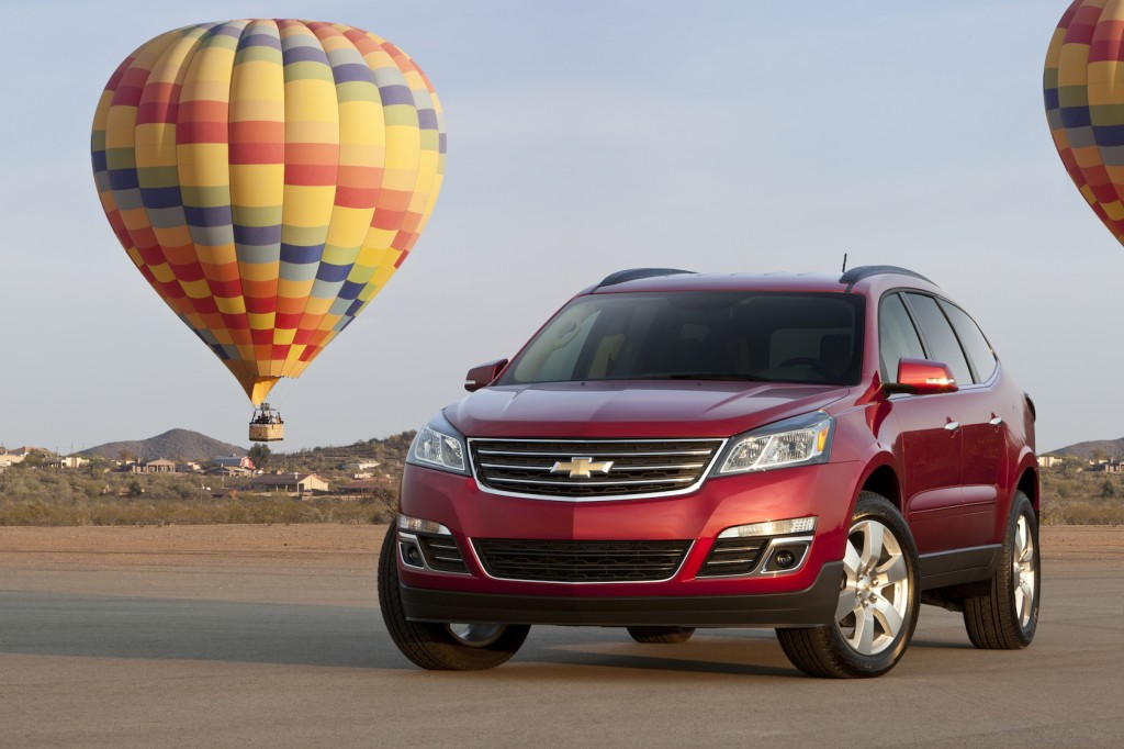 2016 Chevrolet Traverse Review – Price & Seating Options